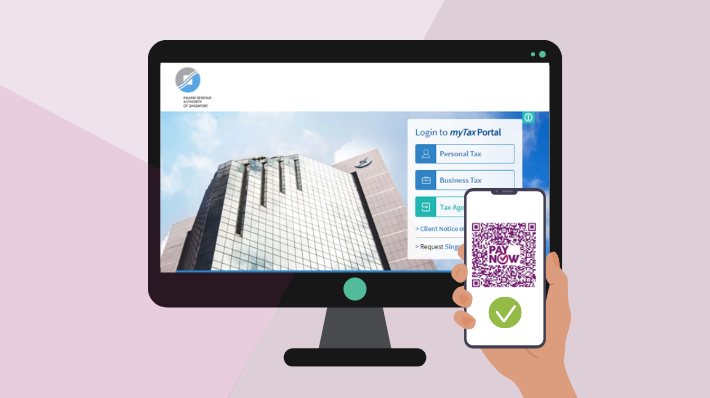 Pay your taxes by scanning the PayNow QR code in myTax Portal