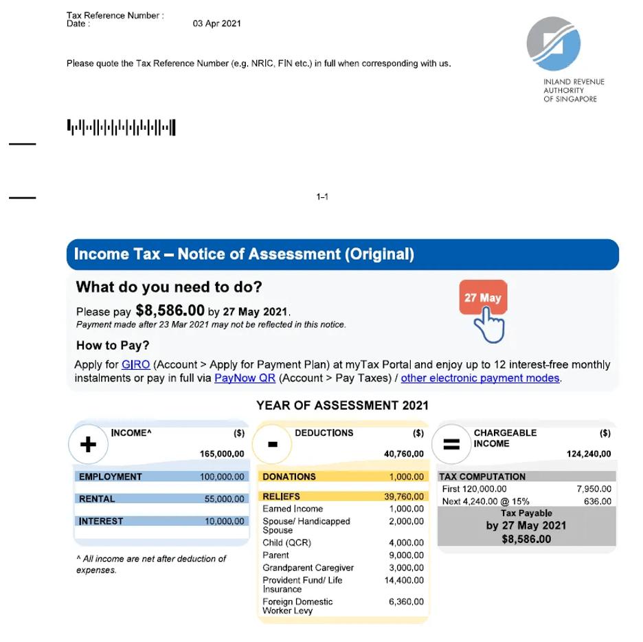 Redesigned Tax Bill