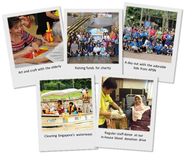 Examples of community involvement initiatives led by the IRRC Community Involvement Committee