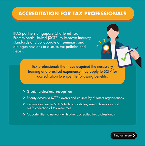 Accreditation for Tax Professionals