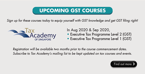 Upcoming GST courses