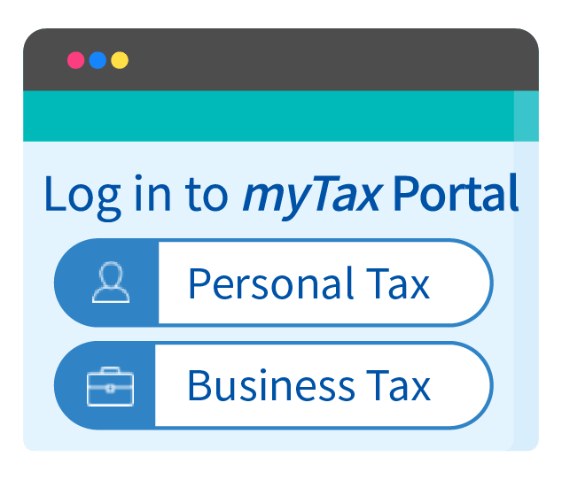 Log in to myTax Portal